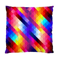 Abstract Background Colorful Pattern Standard Cushion Case (one Side)