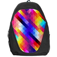Abstract Background Colorful Pattern Backpack Bag