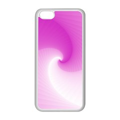 Abstract Spiral Pattern Background Apple Iphone 5c Seamless Case (white)