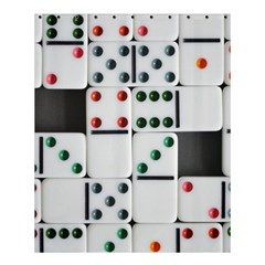 Woah, Domino Shower Curtain 60  X 72  (medium)  by WensdaiAmbrose