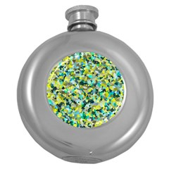 Lovely Round Hip Flask (5 Oz) by artifiart
