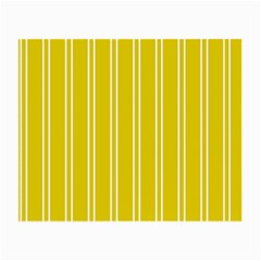 Nice Stripes In Corn Yellow  Small Glasses Cloth by TimelessFashion