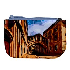Street Architecture Building Large Coin Purse