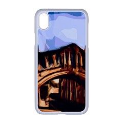 Street Architecture Building Apple Iphone Xr Seamless Case (white)