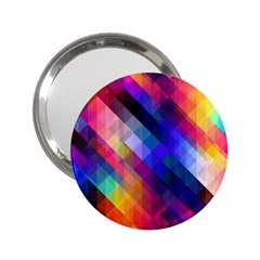 Abstract Background Colorful Pattern 2 25  Handbag Mirrors by Pakrebo