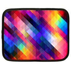 Abstract Background Colorful Pattern Netbook Case (xxl)