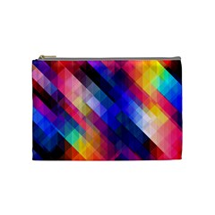 Abstract Background Colorful Pattern Cosmetic Bag (medium)