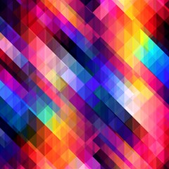 Abstract Background Colorful Pattern Magic Photo Cube