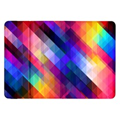 Abstract Background Colorful Pattern Samsung Galaxy Tab 8 9  P7300 Flip Case