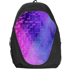 Texture Cell Cubes Blast Color Backpack Bag