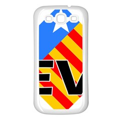 Logo Of Valencian Left Political Party Samsung Galaxy S3 Back Case (white) by abbeyz71
