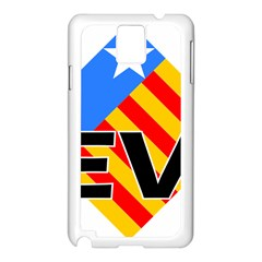 Logo Of Valencian Left Political Party Samsung Galaxy Note 3 N9005 Case (white) by abbeyz71