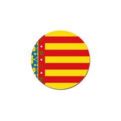 Flag Of Valencia  Golf Ball Marker (10 Pack) by abbeyz71