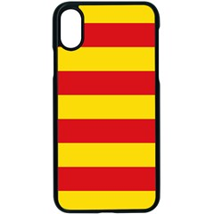 Flag Of Valencia  Apple Iphone Xs Seamless Case (black)
