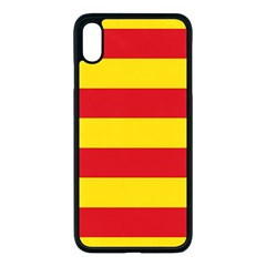 Flag Of Valencia  Apple Iphone Xs Max Seamless Case (black) by abbeyz71