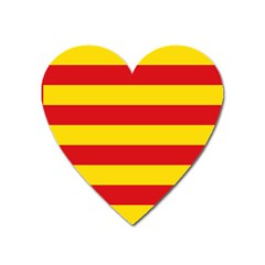 Flag Of Valencia  Heart Magnet by abbeyz71