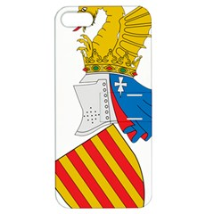Flag Map Of Valencia Apple Iphone 5 Hardshell Case With Stand by abbeyz71