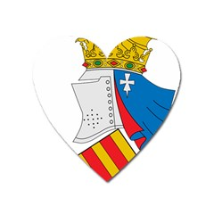 Community Of Valencia Coat Of Arms Heart Magnet by abbeyz71