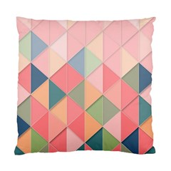 Background Geometric Triangle Standard Cushion Case (one Side) by Pakrebo