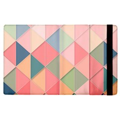 Background Geometric Triangle Apple Ipad Pro 12 9   Flip Case
