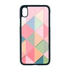 Background Geometric Triangle Apple Iphone Xr Seamless Case (black)