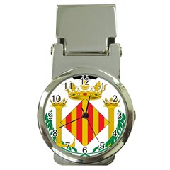 City Of Valencia Coat Of Arms Money Clip Watches by abbeyz71