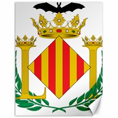 City Of Valencia Coat Of Arms Canvas 18  X 24  by abbeyz71