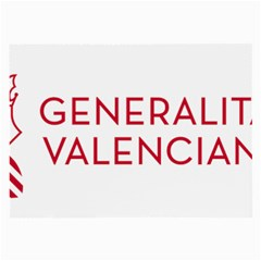 Logo Of Community Of Valencia Large Glasses Cloth by abbeyz71