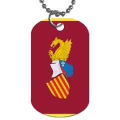 Emblem Of The Generalitat Valenciana Dog Tag (two Sides) by abbeyz71