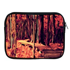 Forest Autumn Trees Trail Road Apple Ipad 2/3/4 Zipper Cases