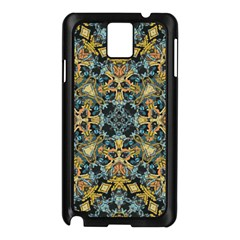 Seamless Texture Ornate Samsung Galaxy Note 3 N9005 Case (black)