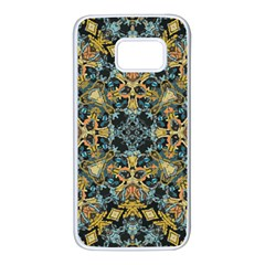 Seamless Texture Ornate Samsung Galaxy S7 White Seamless Case