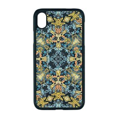 Seamless Texture Ornate Apple Iphone Xr Seamless Case (black)