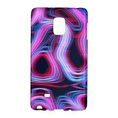 Pattern Color Curve Movement Samsung Galaxy Note Edge Hardshell Case