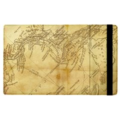 Vintage Map Background Paper Ipad Mini 4 by Pakrebo