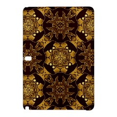 Gold Black Book Cover Ornate Samsung Galaxy Tab Pro 10 1 Hardshell Case by Pakrebo