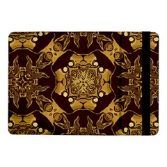 Gold Black Book Cover Ornate Samsung Galaxy Tab Pro 10 1  Flip Case