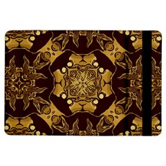 Gold Black Book Cover Ornate Ipad Air Flip