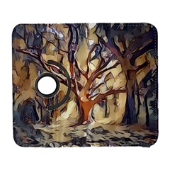 Tree Forest Woods Nature Landscape Samsung Galaxy S  Iii Flip 360 Case