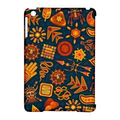 Pattern Background Ethnic Tribal Apple Ipad Mini Hardshell Case (compatible With Smart Cover) by Pakrebo