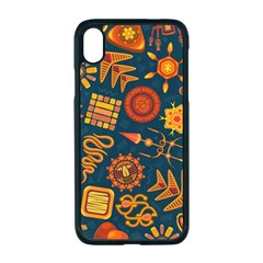 Pattern Background Ethnic Tribal Apple Iphone Xr Seamless Case (black)