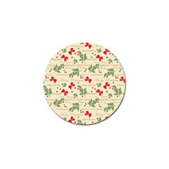 Christmas Paper Scrapbooking Golf Ball Marker (10 Pack) by Pakrebo