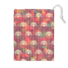 Colorful Background Abstract Drawstring Pouch (xl)