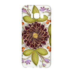 Flowers Decorative Flowers Pattern Samsung Galaxy S8 Hardshell Case
