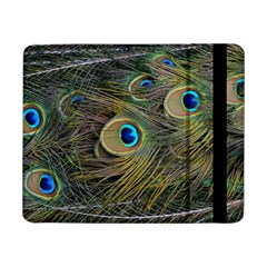 Peacock Tail Feathers Close Up Samsung Galaxy Tab Pro 8 4  Flip Case by Pakrebo