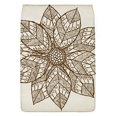 Flower Mandala Christmas Xmas Removable Flap Cover (s)