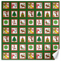 Christmas Paper Christmas Pattern Canvas 16  X 16