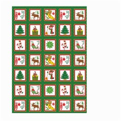 Christmas Paper Christmas Pattern Large Garden Flag (two Sides)