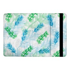 Pattern Feather Fir Colorful Color Samsung Galaxy Tab Pro 10 1  Flip Case by Pakrebo