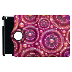 Abstract Background Floral Glossy Apple Ipad 2 Flip 360 Case by Pakrebo